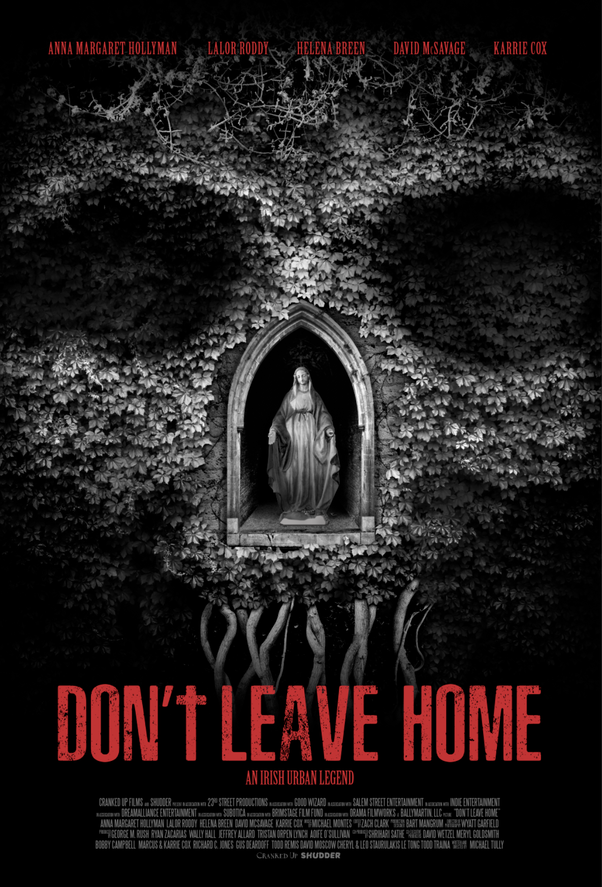 Don't Leave Home Theatrical One Sheet