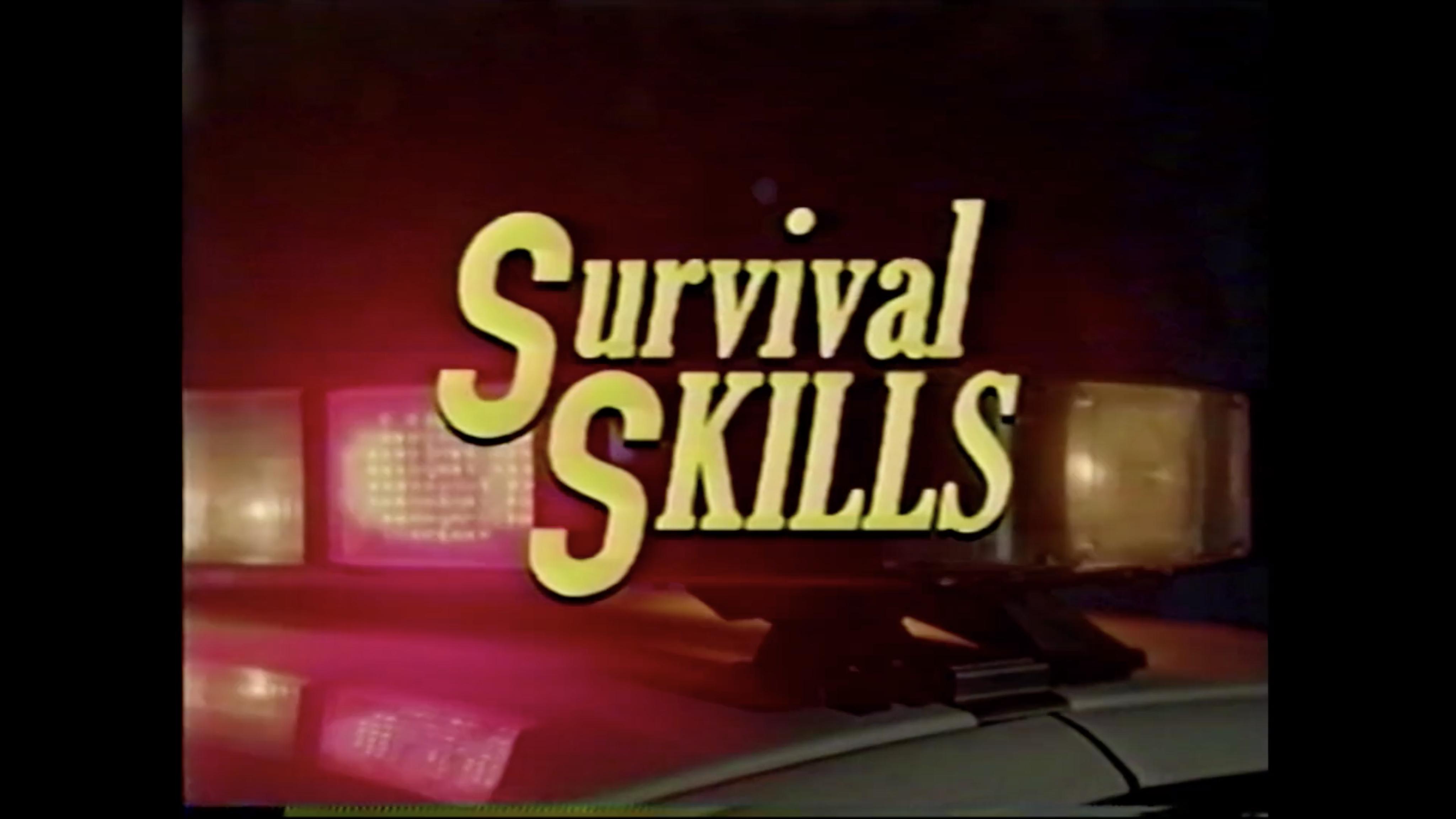 Opening Title --Still from Survivial Skills