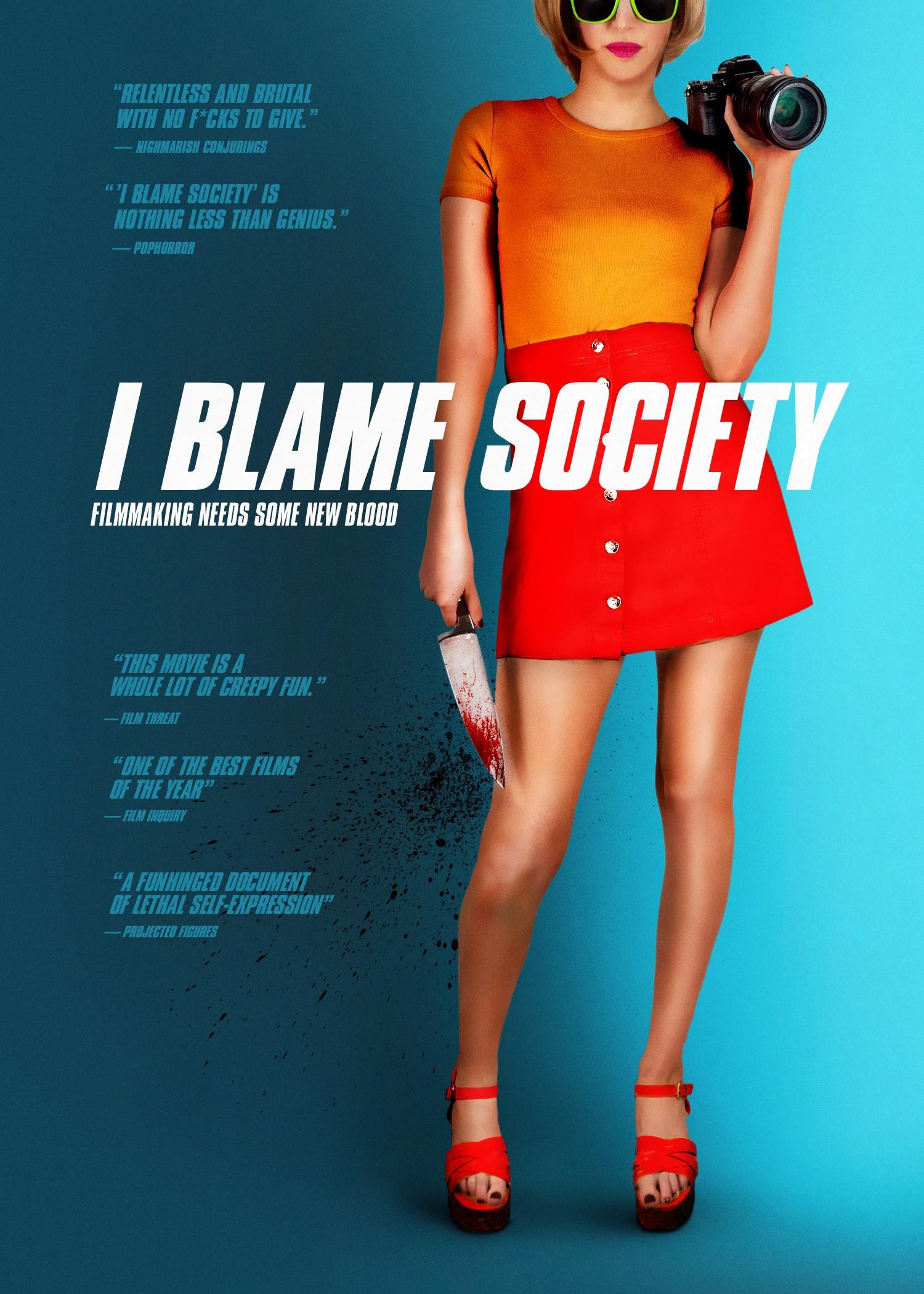 I Blame Society Key Art